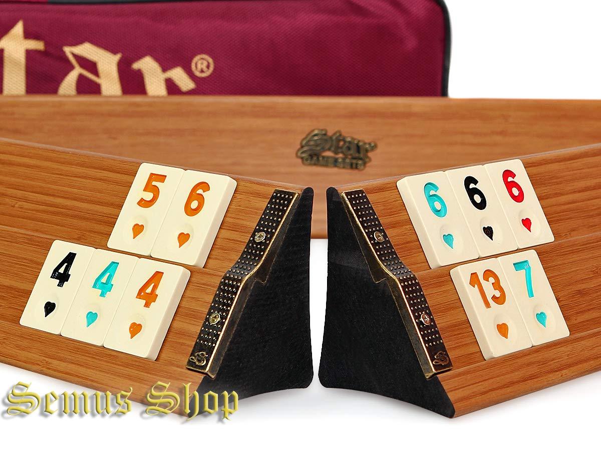 Multi Color Jigsaws Puzzles Staroyun 1010365 Premium Wooden Okey