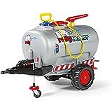 rolly toys 12 277 6 - Remolque cisterna con manguera y un eje