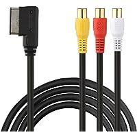 Eximtrade AMI a 3RCA Adaptador Cable para Audi