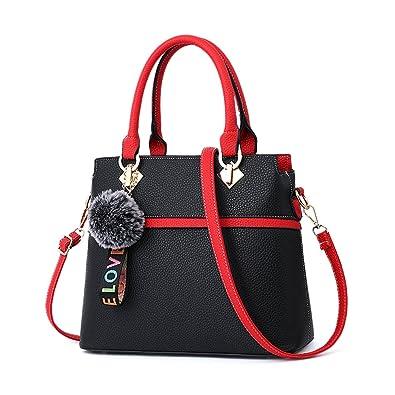 63cf3a32da68 Amazon.com  Nevenka Purse and Handbags for Women Large PU Leather Tote Bag  Zipper for Ladies Adjustable Strap Shoulder Bag (Large