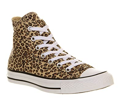 7ef2ea23f4bb Converse Unisex-Adult Chuck Taylor All Star Core Hi Trainers Leopard 6.5 UK