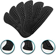 3 Pairs Heel Liner Cushions Insoles,2-6mm 4D Heel Grip Pads Heeled Silicone Self-Adhesive Inserts Stickers for Loose Shoes,Im