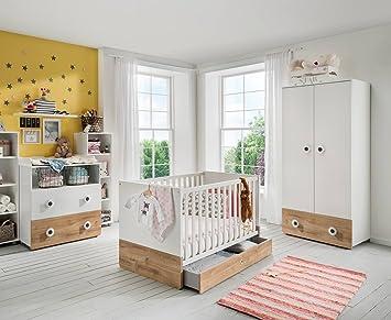 lifestyle4living Ensemble Complet de Chambre pour bébé Comprenant 1 ...