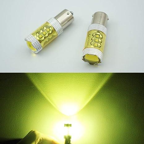 FidgetGear 2 Canbus - Bombilla LED de Alta Potencia (80 W, Bau15s, 7507