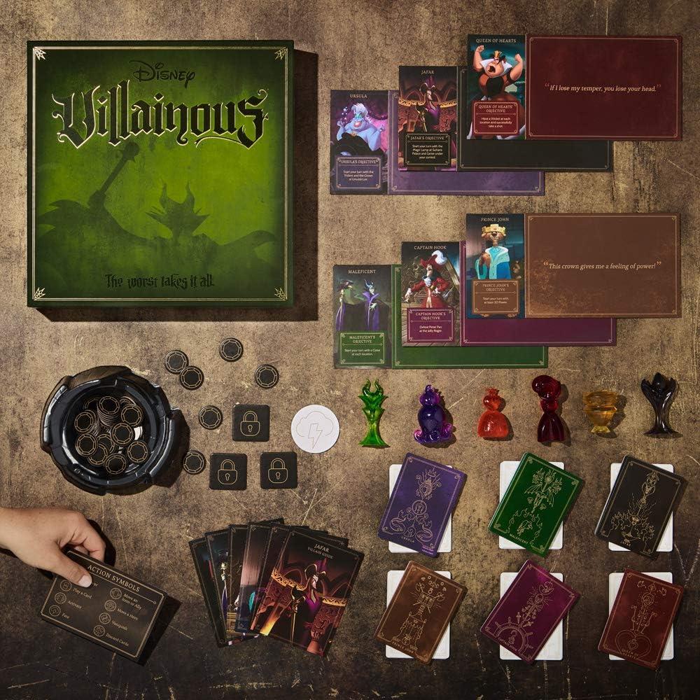 Ravensburger Disney Villainous Game - ¿Qué Villano Eres? - Versión Inglesa: Amazon.es: Juguetes y juegos