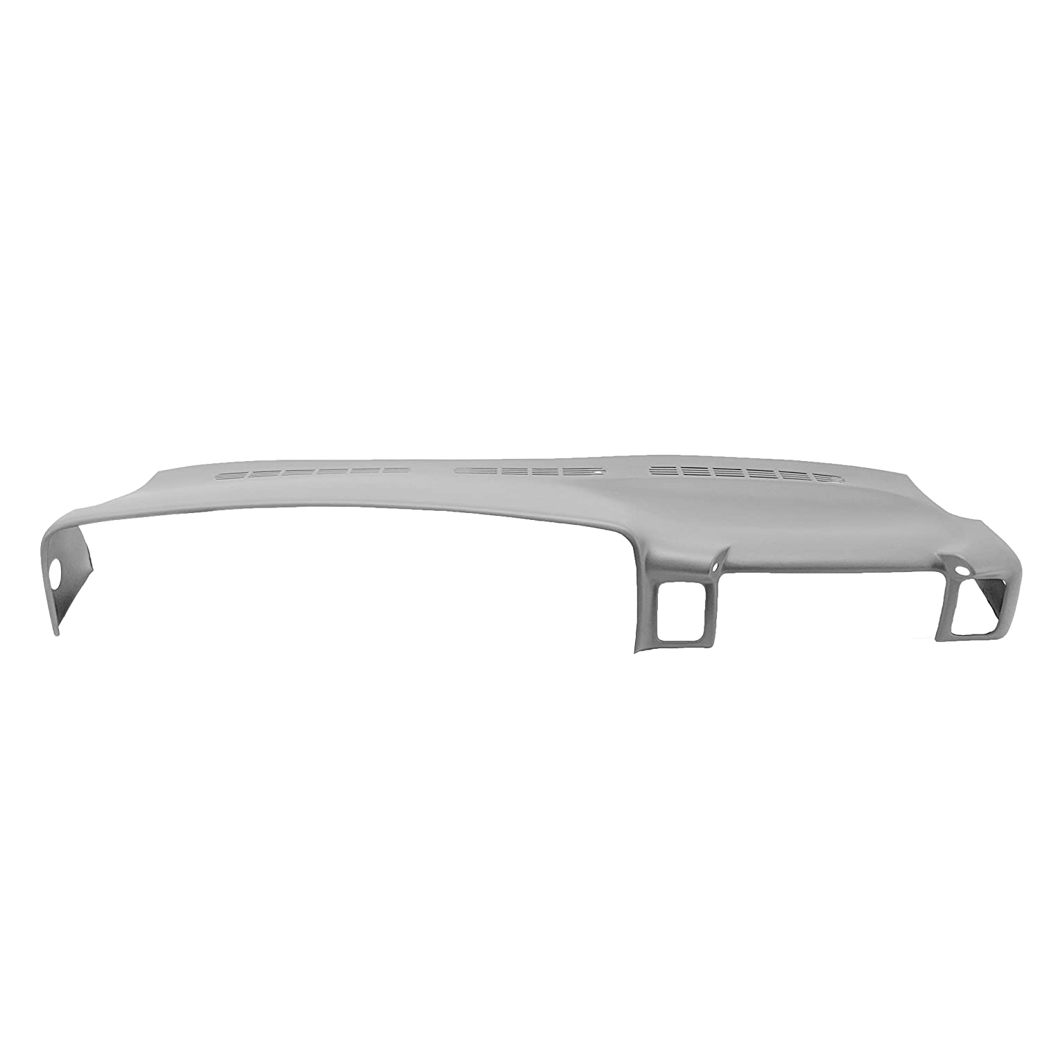 DashSkin Molded Dash Cover Compatible with 00-06 GM SUVs and 99-06 Pickups in Light Pewter Grey