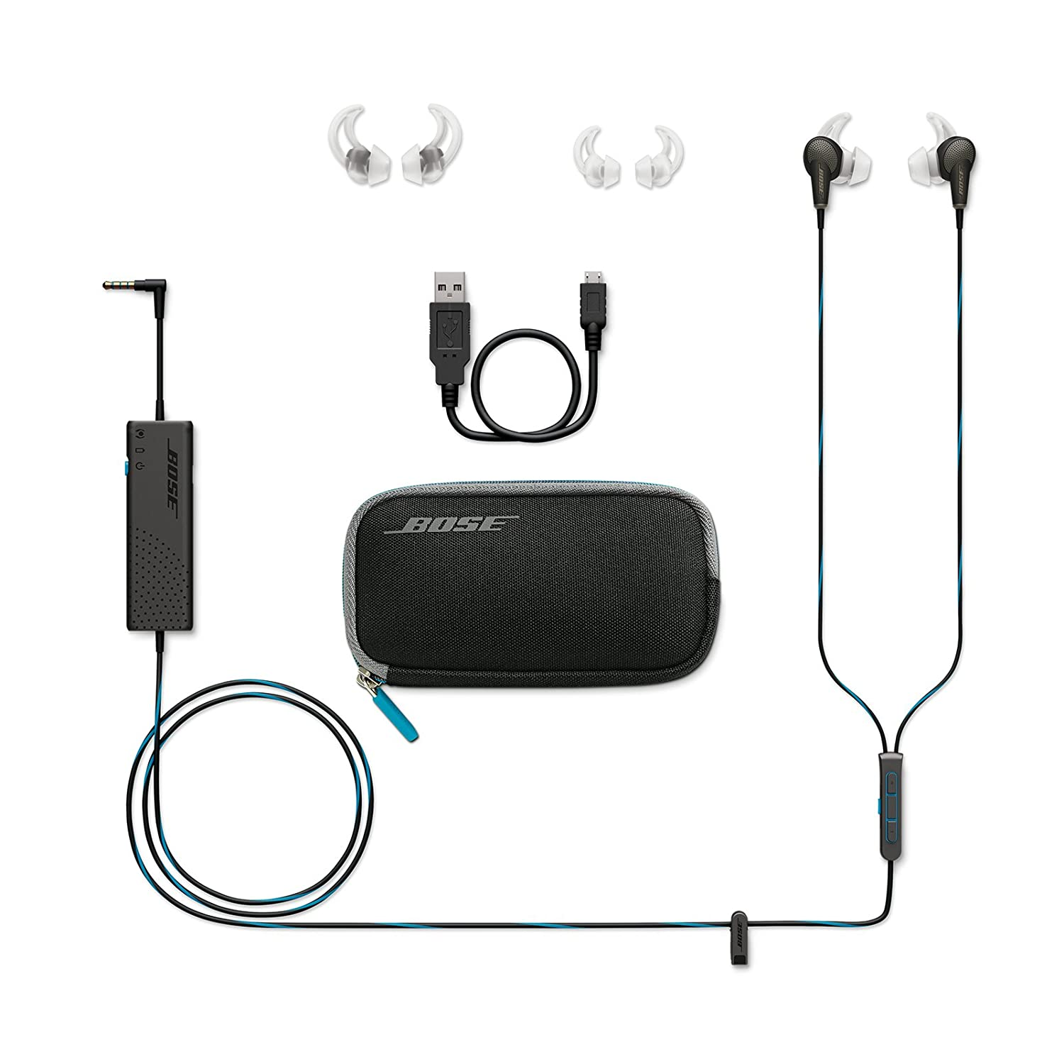 Bose Quietcomfort 20 Acoustic Noise Cancelling Wiring Diagram Building Canceling Headphones Microphone Apple Devices Black Home Audio Theater