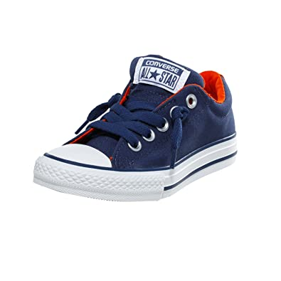 d3ac9a3fa5a Converse Unisex Kids  Chuck Taylor All Star Junior Street Leather Shearling Mid  Trainers