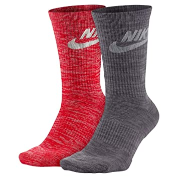 Nike M NSW Advance Crew 2PR - Calcetines, Hombre