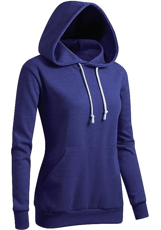 Sweater con capucha para mujer - slim fithttps://amzn.to/2RxigAq