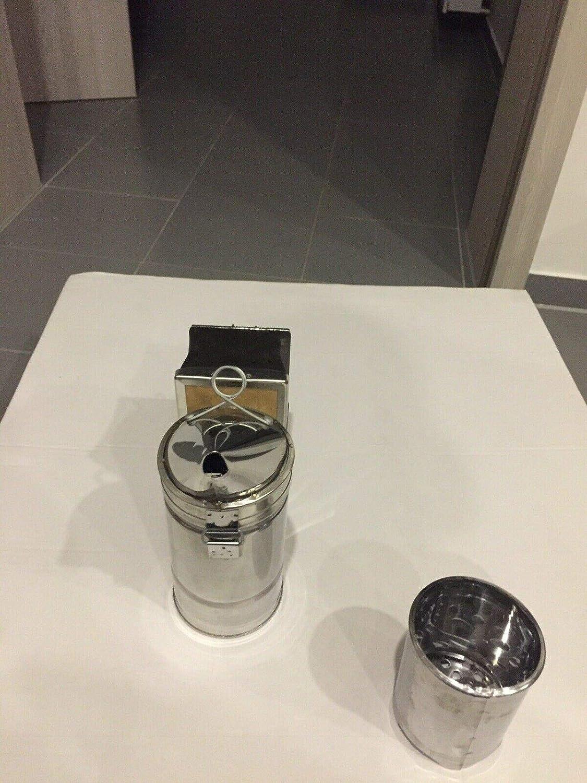 Profi Smoker Pr/äzisons Edit Mini Inmkerei Edelstahl Smoker Dadant Imkerpfeife