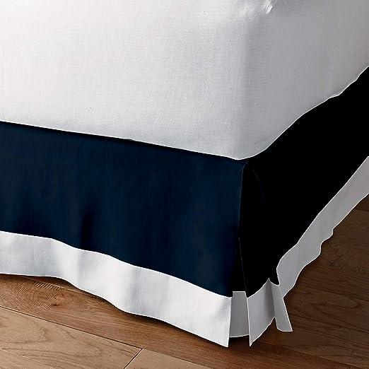 Amazon.com: Classic Box Pleated Bed Skirt Dust Ruffle Tailored
