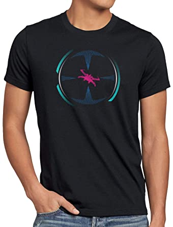 style3 Tie Interfaz Camiseta para Hombre T-Shirt Caza ...
