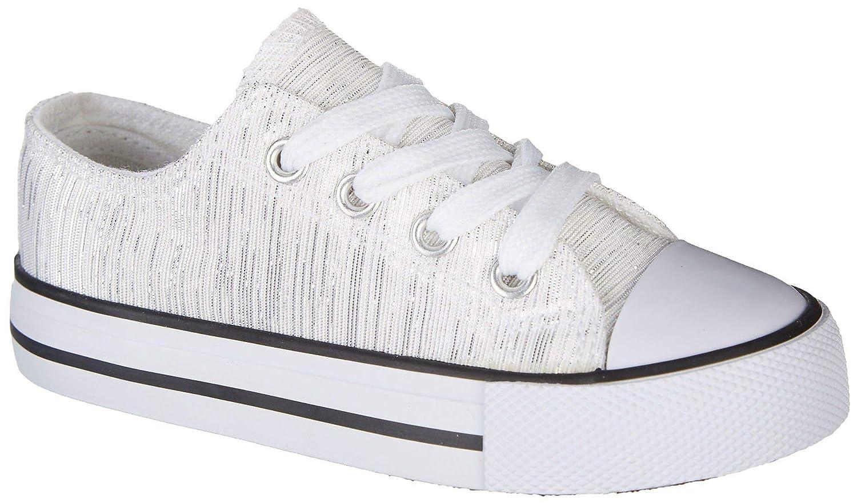 Legendary Laces Toddler Girls Mackenzie Shoes 6 White
