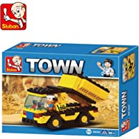 Sluban, Town Theme, Heavy Engineering, 93 Piece, Block Bricks Toys, Lego Compatible, Construction Set, Made Of Non-Toxic Abs, Educational Toy, M38-B9500, Multi Color For Kids.