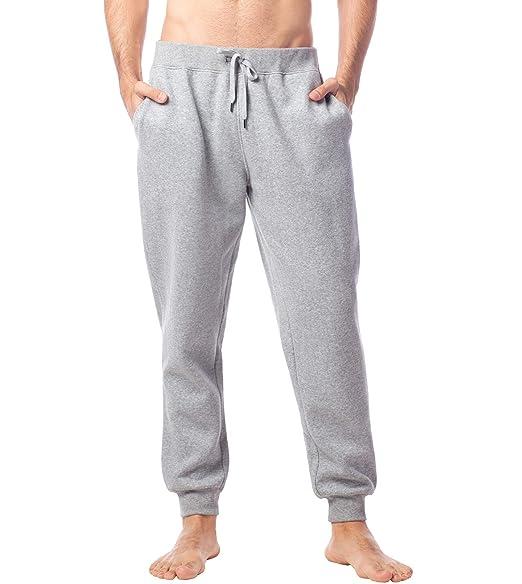 4a75ee6d06843 Lapasa Pantalon de Jogging en Sweat Homme Chaud Respirant et Léger M22 Gris  US: Small