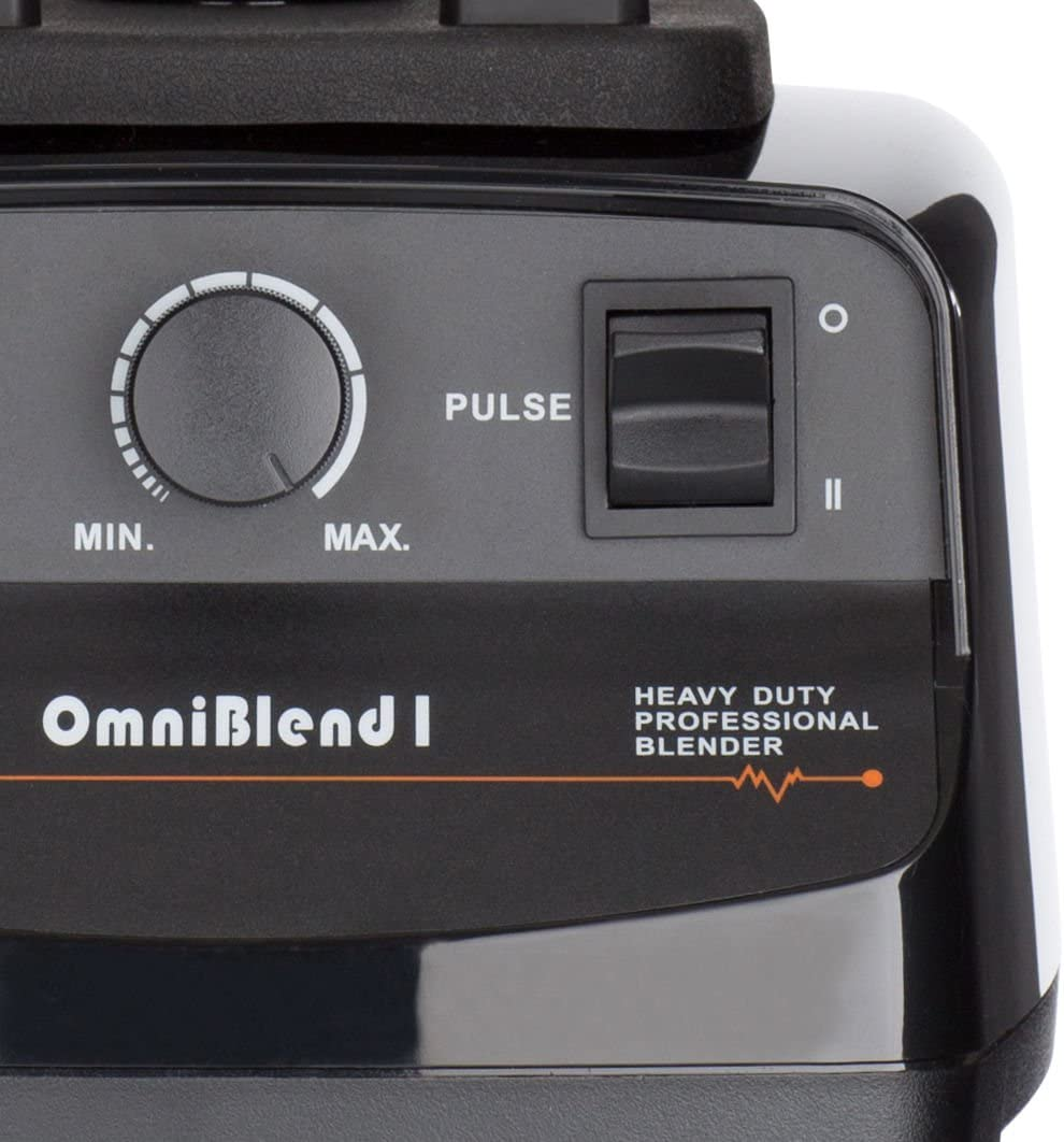 JTC OMNIBLEND I ORIGINAL S/ÉRIES COMMERCIAL BLENDER 1.5L L sans BPA cruche en noir