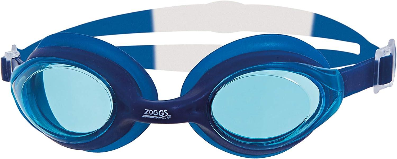 zoggs nova blue swimming goggles