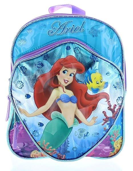 enorme sconto 1a81a 43bd7 Disney Store zaino scuola Sirenetta Ariel originale zainetto ...