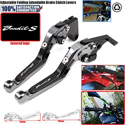 CNC extensible pliable R/églage de La moto leviers de frein dembrayage pour Suzuki Gsx1400/2001 2007