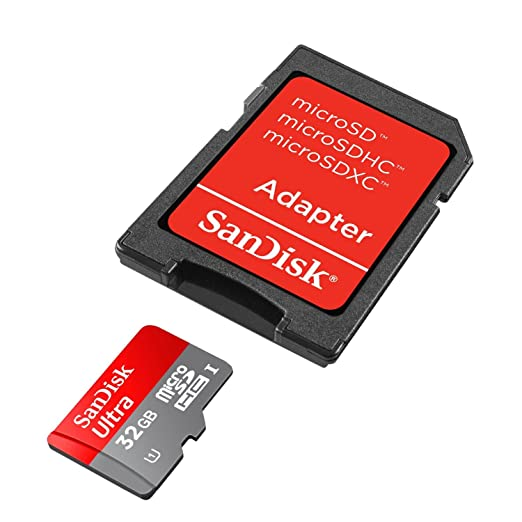 1716 opinioni per SanDisk Ultra Android Scheda di Memoria MicroSDHC 32 GB, 30 MB/s, Classe 10