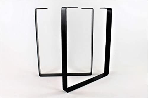 Best home office desk: Powdercoated Steel Desk Legs-Choose Your Height and Width