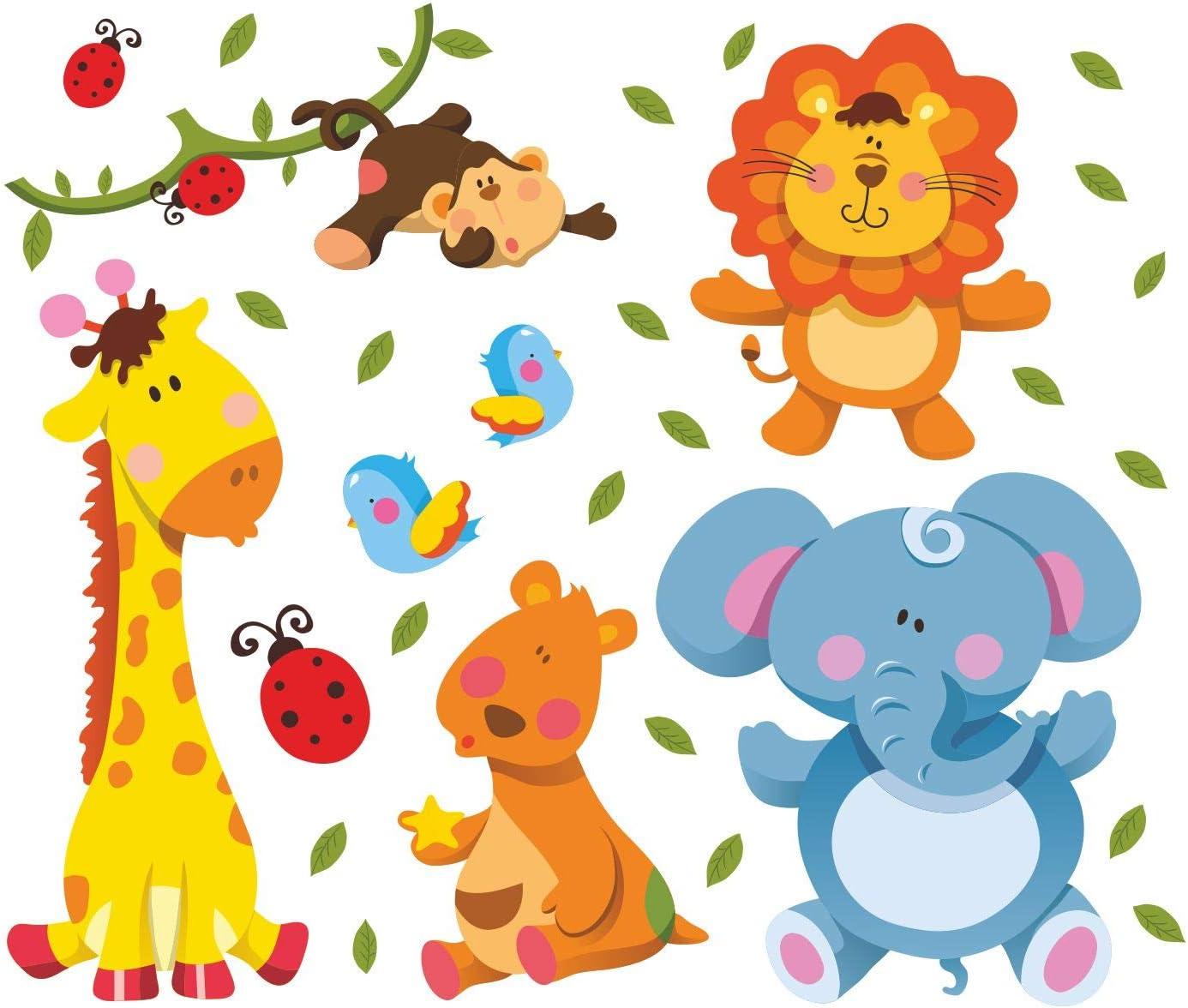 De piel de jirafa diseño de animales de la habitación León de ...