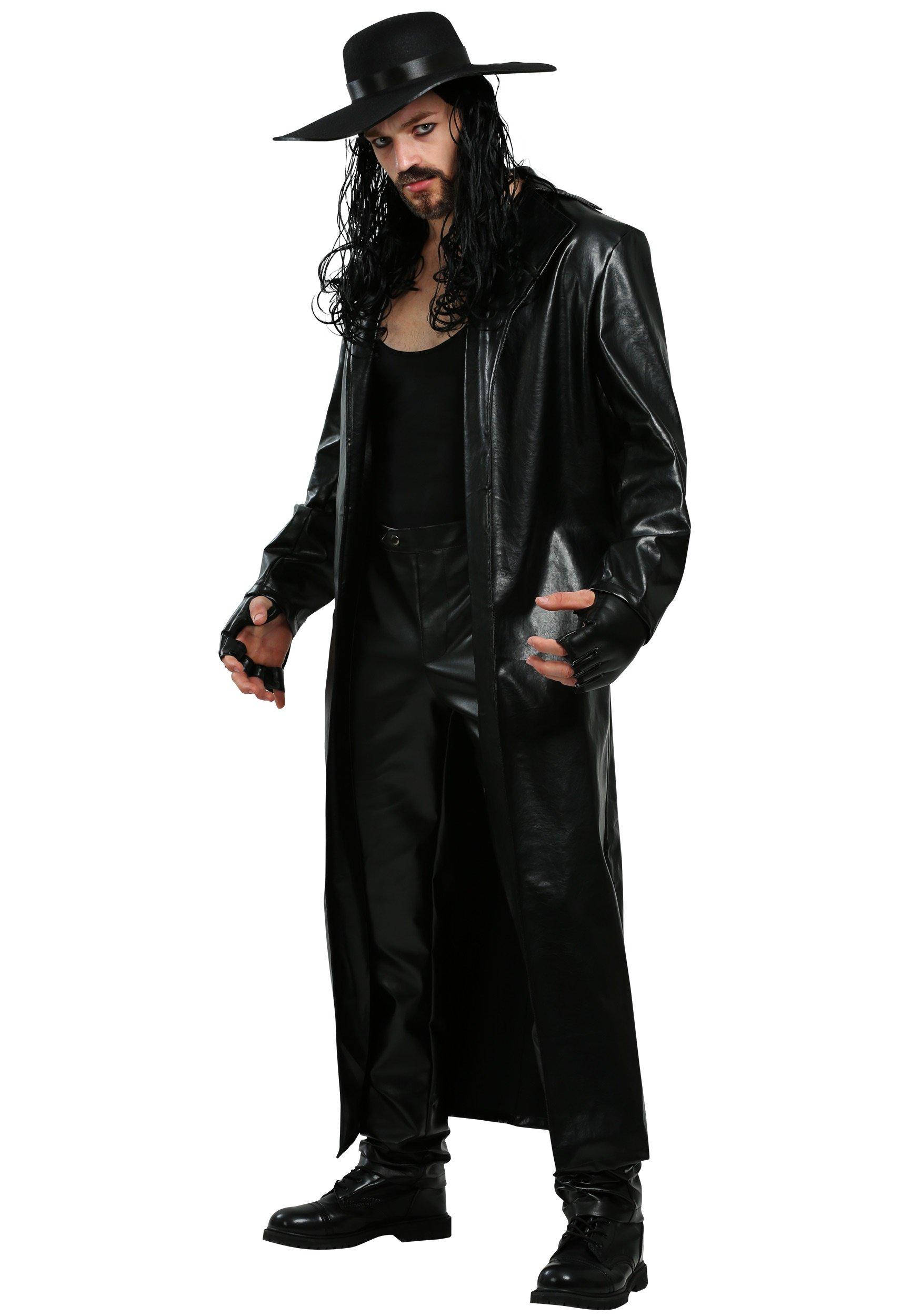 Plus Size WWE Undertaker Costume 2X by FunCostumes