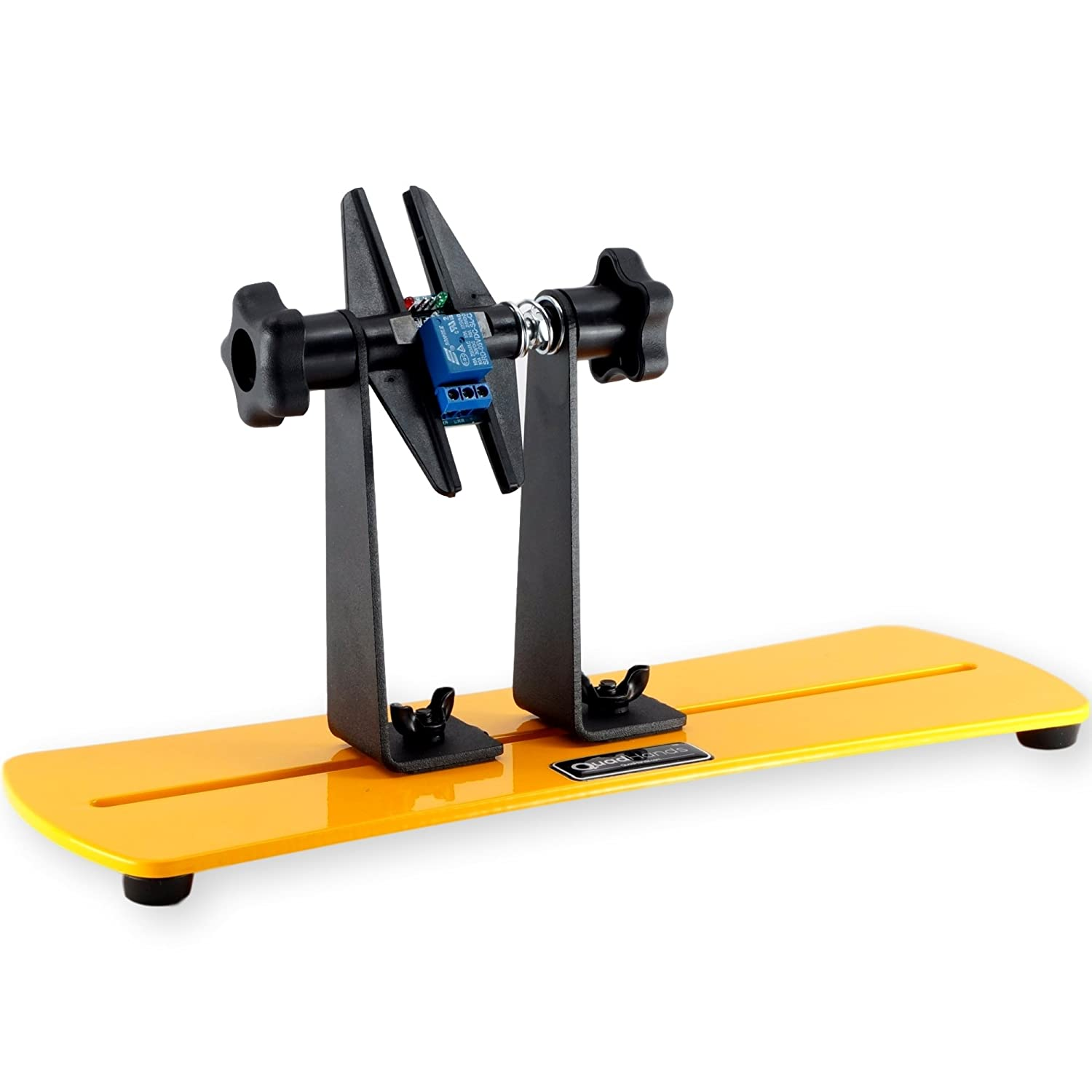 Quadhands Flip Circuit Board Holder Rotate Your Pcb 360 Degrees Panavise Clamp Vise W Base With Ease Amazoncom