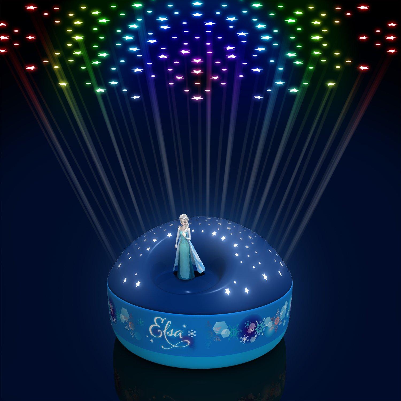Frozen Elsa Dancing Figurine 200 Stars with Let it Go Musical Projector Trousselier STAR05003BM