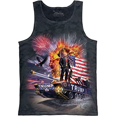 53d01f25e59437 Amazon.com  The Mountain Epic Trump Tank Top - Charcoal  Clothing
