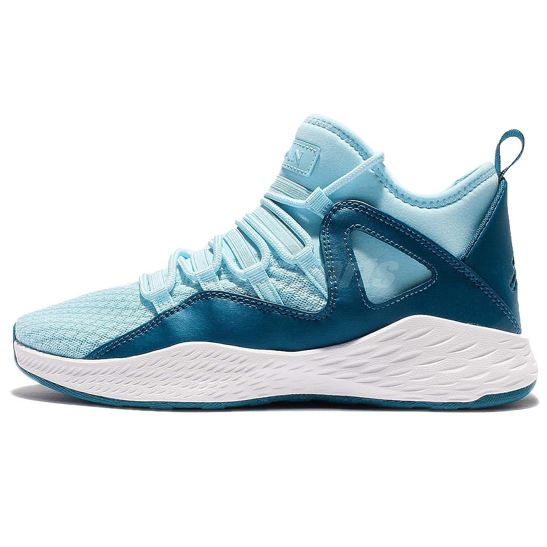 7e46988ab8c Amazon.com: JORDAN FORMULA 23 GG, STILL BLUE/WHITE-GREEN ABYSS, 6Y: Shoes