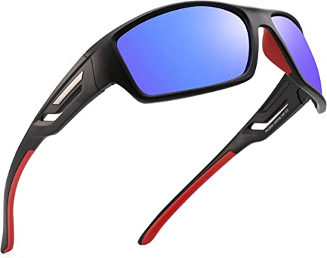 PUKCLAR Gafas de sol deportivas polarizadas para hombres y mujeres ...