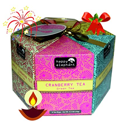 d1e2ee7e2 Turyaga Happy Elephant 48 Tea Bag Hexagon with Exotic Flavours  Amazon.in   Grocery   Gourmet Foods