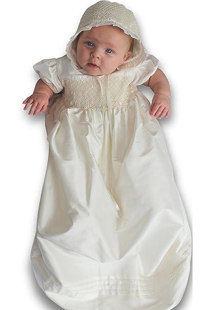 6e1aa544a Strasburg Children Babies Abigail Silk Christening Gown Baptism ...