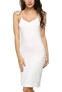 Avidlove Mujer Pijama Camisón Largo Modal Ropa de Dormir de Cuello V