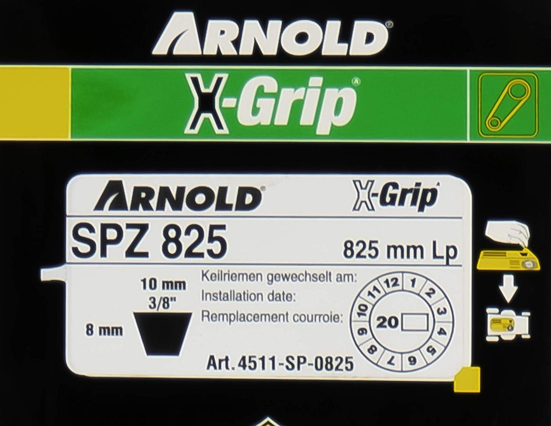 Arnold 4511-0825/Courroie trap/ézo/ïdale