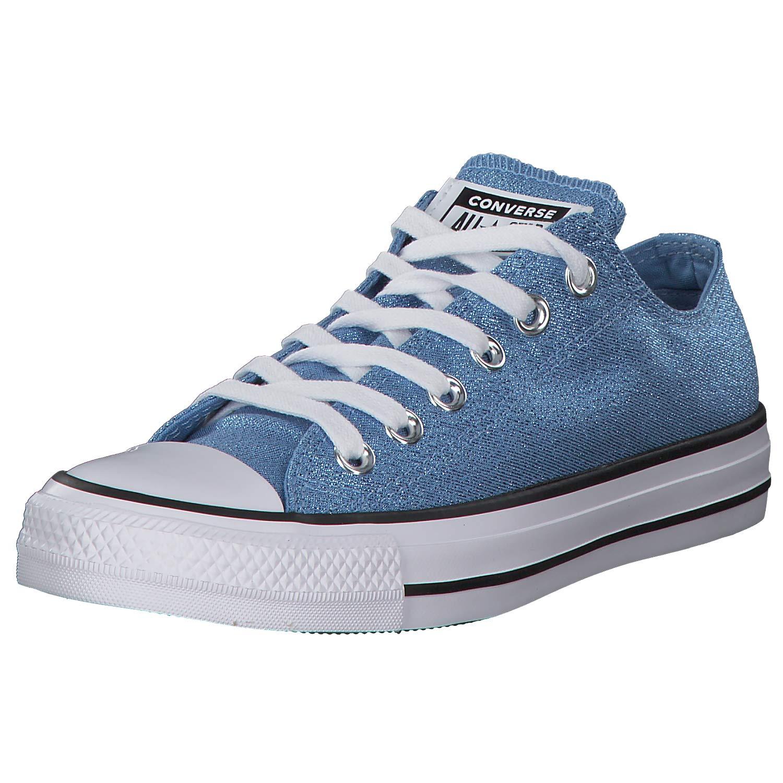 MultiCouleure (Light bleu blanc noir 472) Converse CTAS Ox Light, Chaussures de Fitness Femme 39 EU