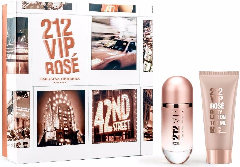 ESTUCHE Carolina Herrera 212 VIP Rose 50ml EDP: Amazon.es: Belleza
