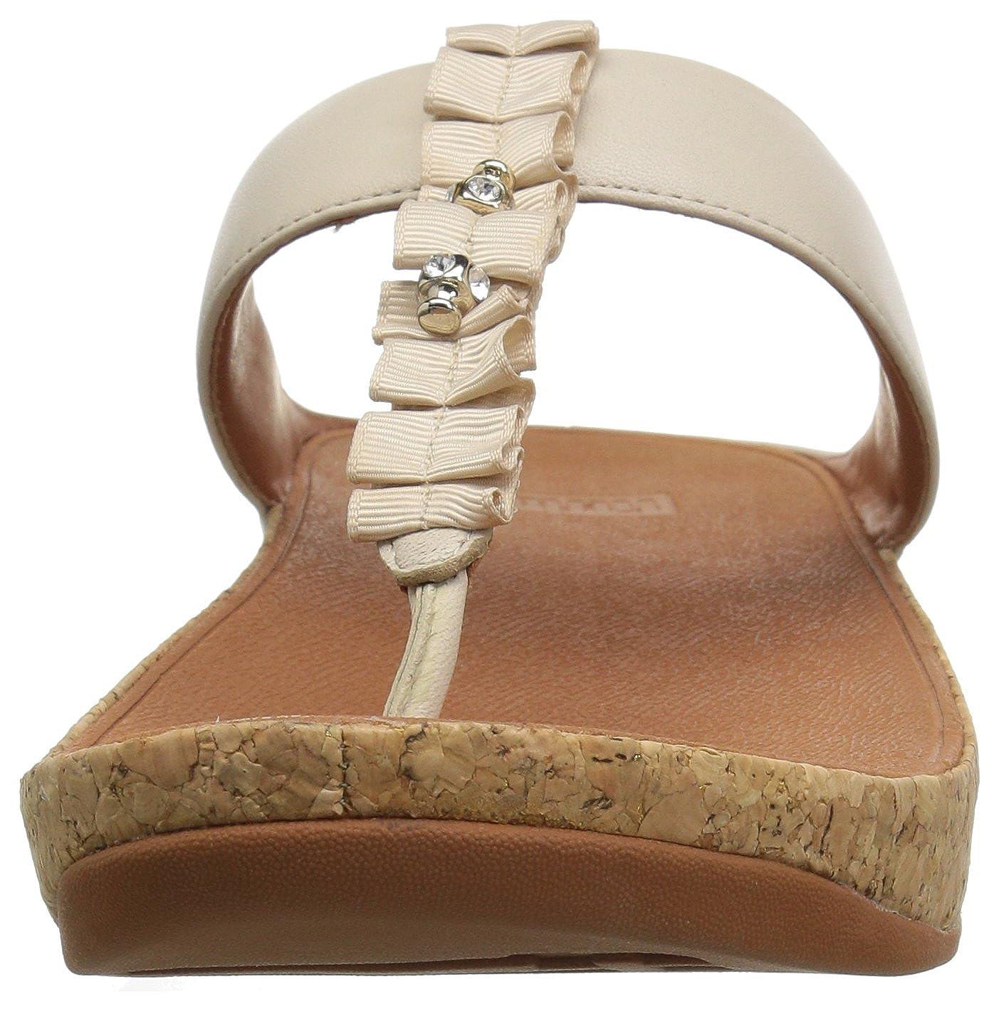 Thong Fitflop Para Sandalias Abierta Punta Sandals Ruffle Toe Con fSHpEnS
