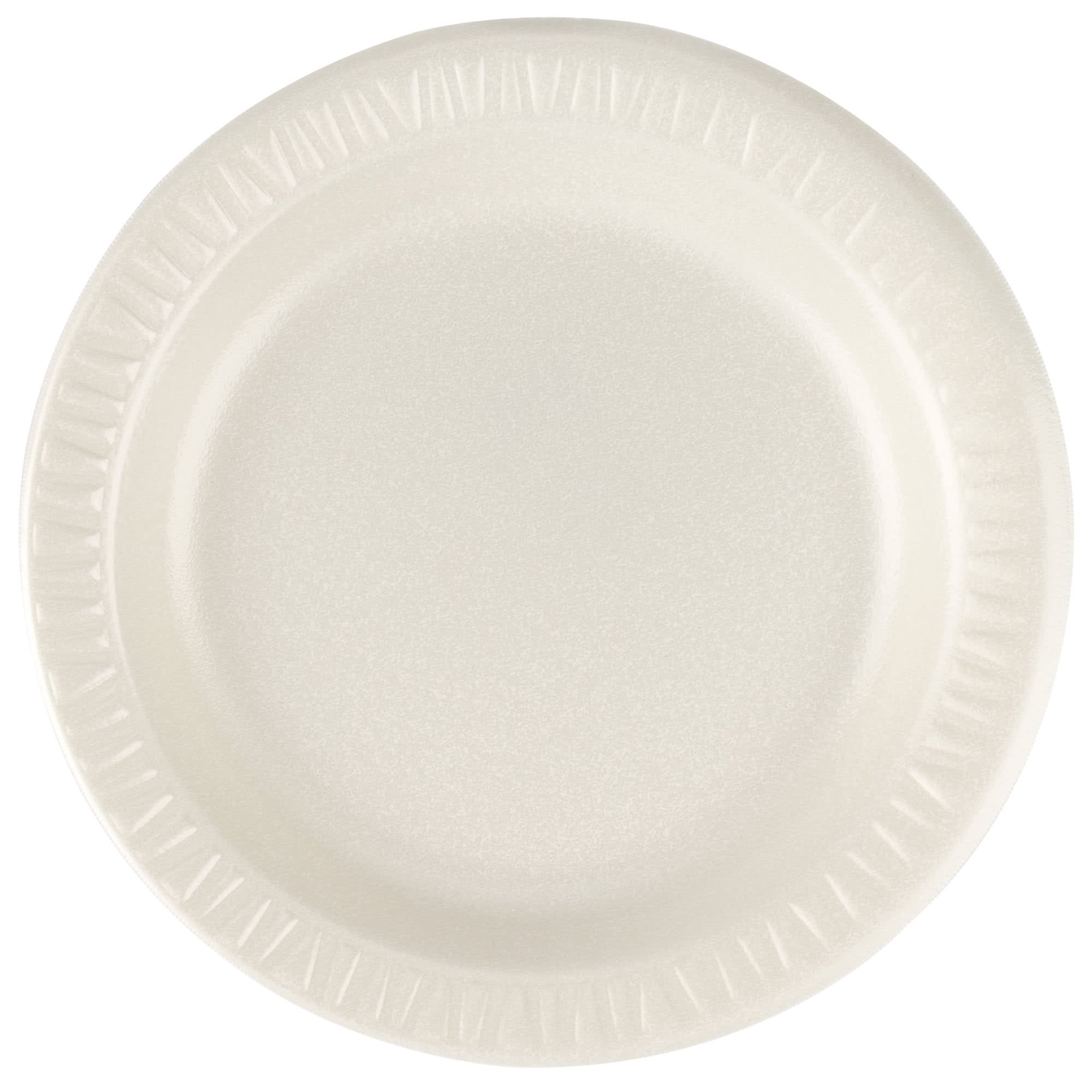 TableTop King 7PHQR Quiet Classic 7'' Honey Laminated Round Foam Plate - 1000/Case by TableTop King
