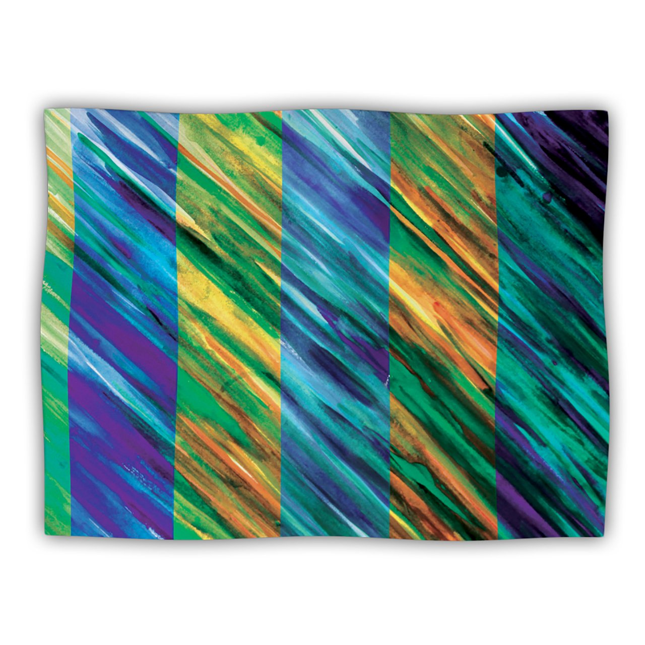 Kess InHouse Theresa Giolzetti Stripes II  Pet Blanket, 60 by 50-Inch