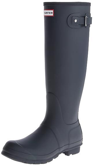 Hunter Original Tall Navy Womens Boots Size 3 UK