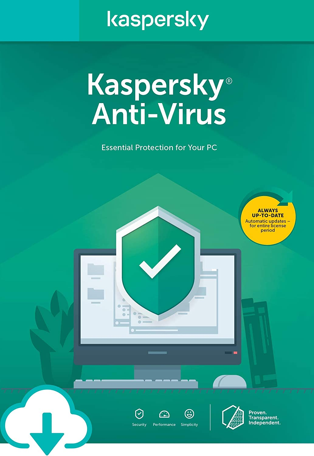 Amazon.com: Kaspersky Anti-Virus | 1 PC | 1 Month [Subscription]: Software