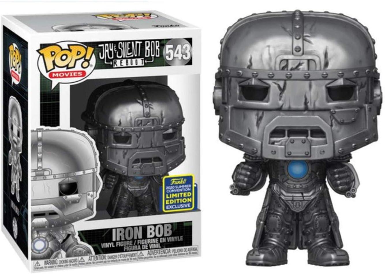 Jay /& Silent Bob Reboot Iron Bob SDCC 2020 Shared Exclusive Movies Funko Pop