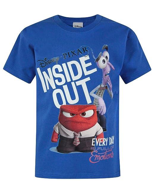 Niño - Disney - Inside Out - Camiseta (3-4 Años)
