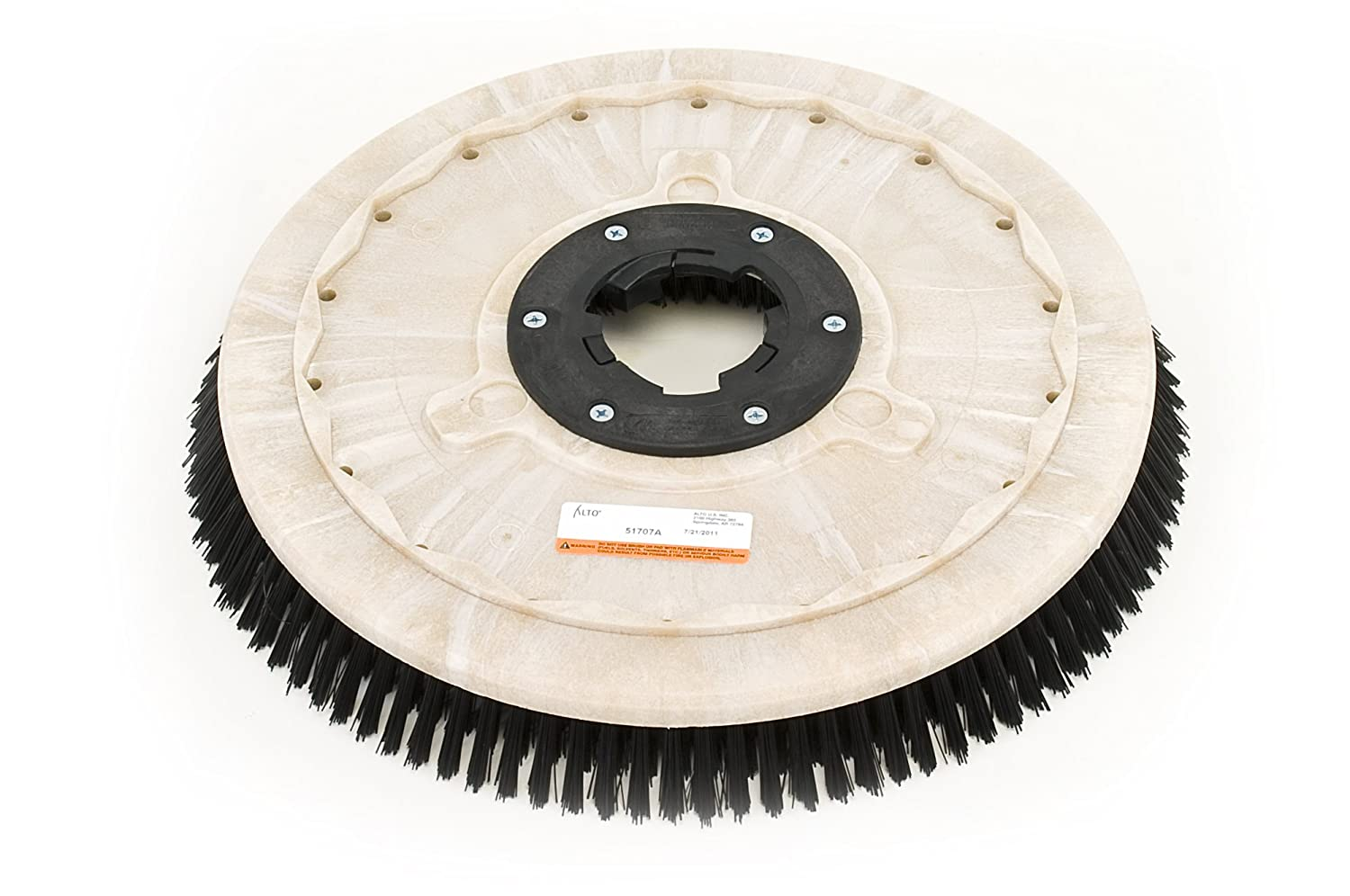 Clarke 51705A Commercial 17 Inch Diameter Polypropylene Scrub Brush: Floor  Machine Brush: Amazon.com: Industrial & Scientific
