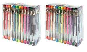 Fiskars Gel Pen Set, 48-piece - Multiple Colors 2-Pack