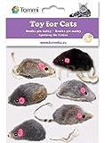 Katzenspielzeug Maus Katzen Spielzeug Spielmaus Mäuse 6 Stück