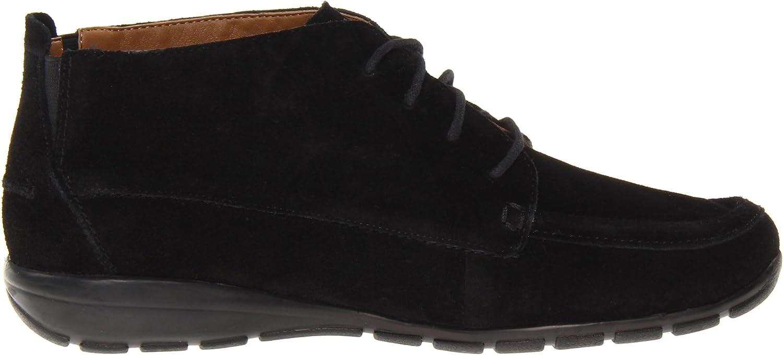 Easy Spirit Womens Adagio Leather Square Toe Ankle Fashion Boots Nero